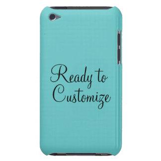 66CCCC Solid Retro Aqua Background iPod Case