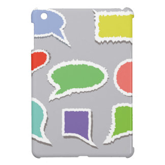 66Speech Bubbles_rasterized Case For The iPad Mini