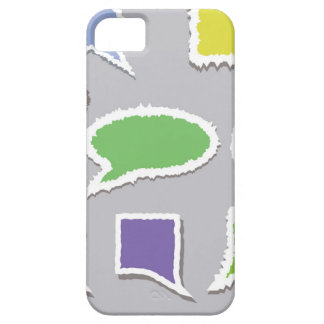 66Speech Bubbles_rasterized iPhone 5 Case