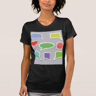 66Speech Bubbles_rasterized T-Shirt