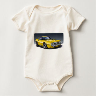 67_68_Firebird_Yellow Baby Bodysuit