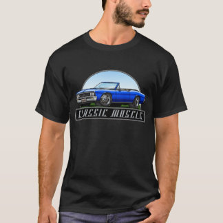 67_Chevelle_Blue_Convertible T-Shirt
