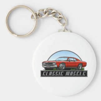 67_Chevelle_Red Keychains