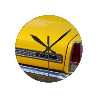 '67 Chevy Nova Round Clock