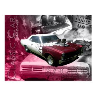 67 GTO -Classic Car Series Postcard