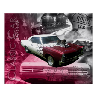 67 GTO-Classic Car Series Poster
