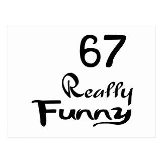 67 Really Funny Birthday Designs Postcard