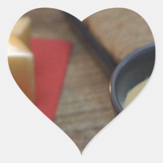67-XMAS16-19-8174 HEART STICKER