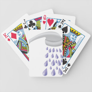 67Shower_rasterized Bicycle Playing Cards