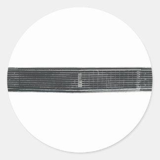 68-Camaro-RS Classic Round Sticker