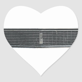 68-Camaro-RS Heart Sticker