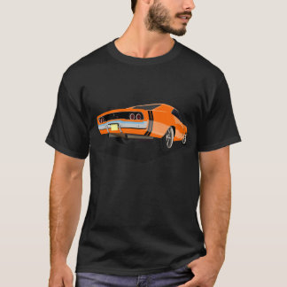 68 Charger in Orange T-Shirt