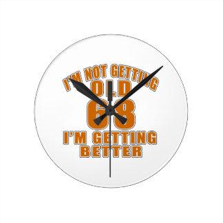 68 I Am Getting Better Wall Clocks