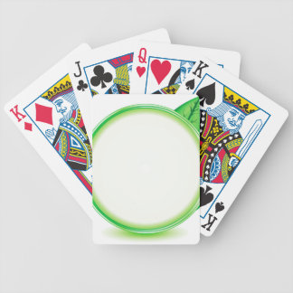 68Green Logo_rasterized Bicycle Playing Cards