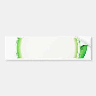 68Green Logo_rasterized Bumper Sticker
