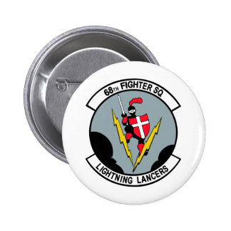 68th Fighter Squadron Lighting Lancers Pins