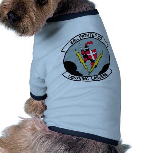68th Fighter Squadron Lighting Lancers Doggie Shirt