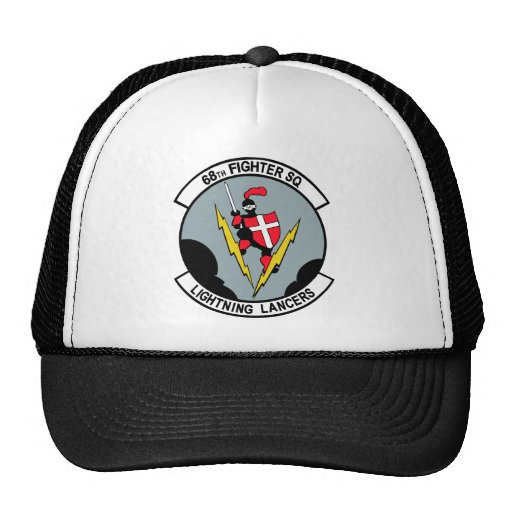 68th Fighter Squadron Lighting Lancers Mesh Hat