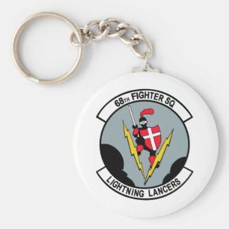 68th Fighter Squadron Lighting Lancers Key Chains