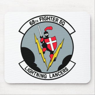 68th Fighter Squadron Lighting Lancers Mouse Pad