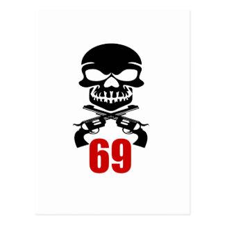 69 Birthday Designs Postcard