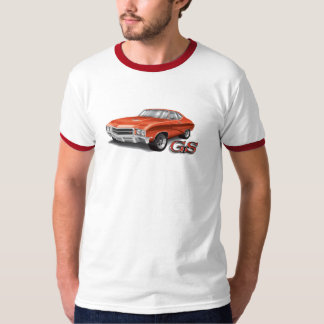 69 Buick GS in Red on Ringer Tee