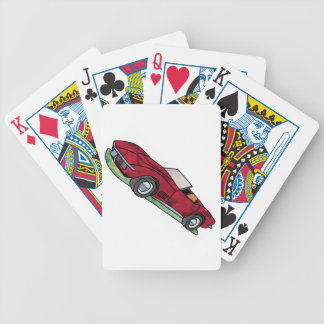69 Corvette Sting Ray Roadster Bicycle Playing Cards