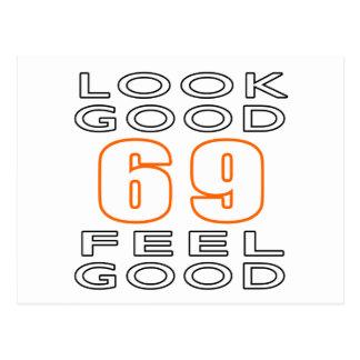 69 Look Good Feel Good Postcards