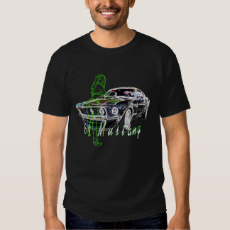 69 Mustang and babe Tshirt