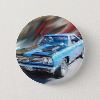 69 road runner 2 inch round button