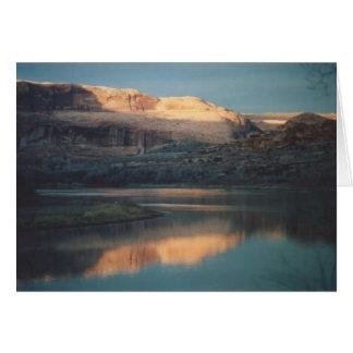 69. Sunset on Rt. 128, Utah Card