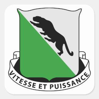 69th Armored Regiment Square Sticker