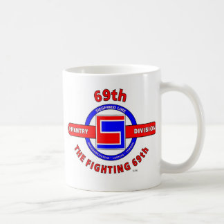 "69TH INFANTRY DIVISION ""THE FIGHTING 69TH"" COFFEE MUG"