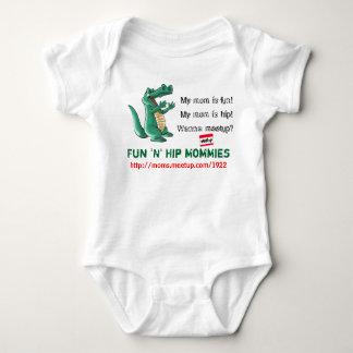 6-12 month Fun n Hip Moms Baby Bodysuit