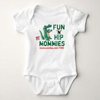 6-12 month Fun n Hip Moms - Customized Baby Bodysuit