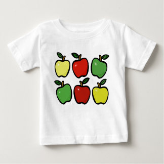 6 Apples Baby T-Shirt
