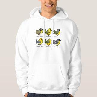 6 Birdorable Warblers Hoodie