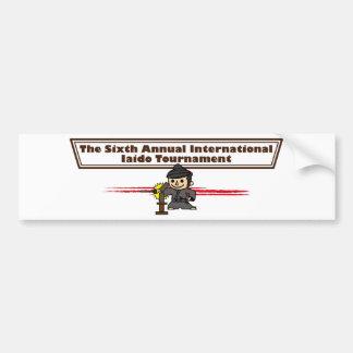 6 conferences bumper sticker
