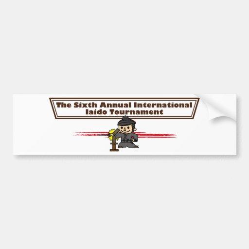 6 conferences bumper stickers