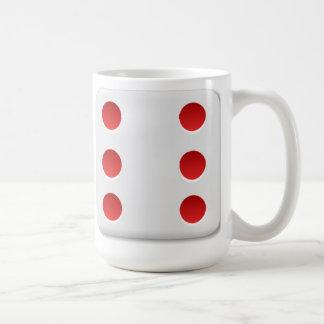 6 Dice Roll Coffee Mugs