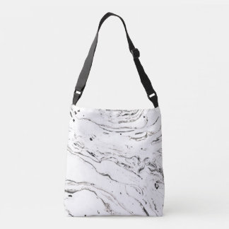 6 feet under marble adjustable tote