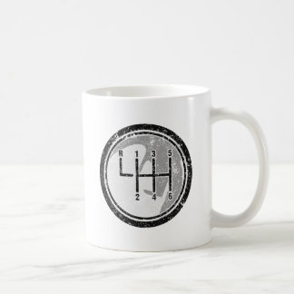 6 Gear Shift Knob Coffee Mug