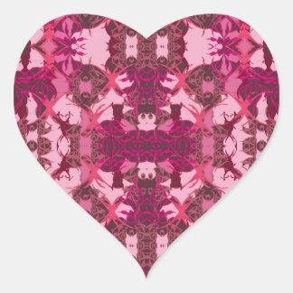 6 HEART STICKER