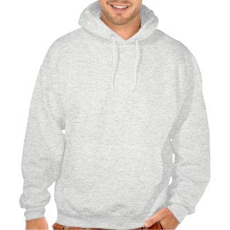 6 of Spades Playing Card Hooded Sweatshirt
