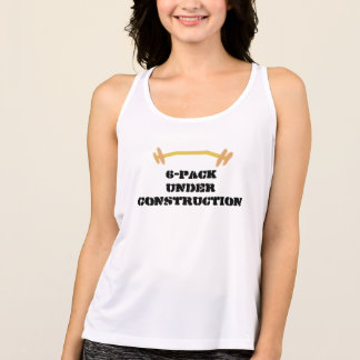 6-Pack Under Construction Tank Top
