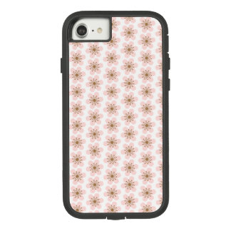 6 Petal Cherry Blossom, Pink and white Case-Mate Tough Extreme iPhone 7 Case