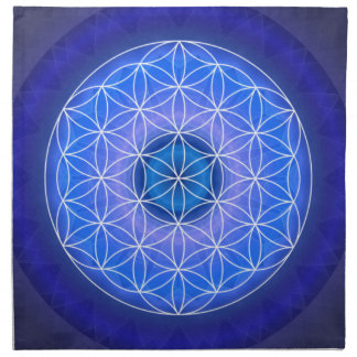 6 The third eye chakra created by Tutti Cloth Napkin