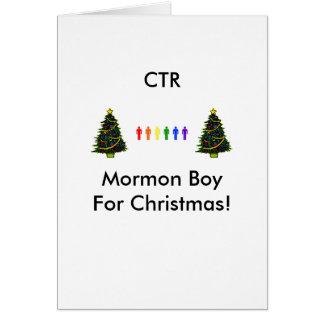 6g, christmas tree, christmas tree, CTRMormon B... Card