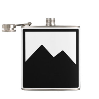 6oz. Vinyl-wrapped Flask Template
