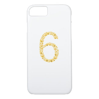 6th Birthday 2011 Emoji Funny for Kids Boy Girls iPhone 8/7 Case